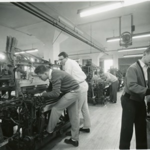 People in Forestry Laboratory