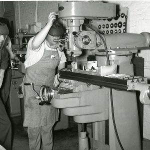 Students in Forestry Laboratory