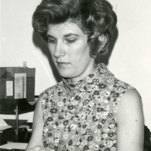 Bergeron at desk