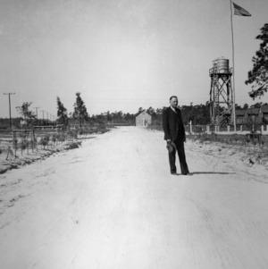 Dr. Hofmann  at Civilian Conservation Corps (CCC) Camp