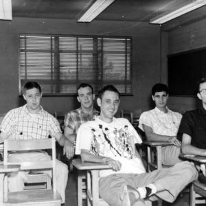Academics students in classroom