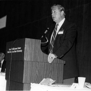 Dr. Bruce R. Poulton at McKimmon Center