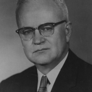 Carey H. Bostian portrait