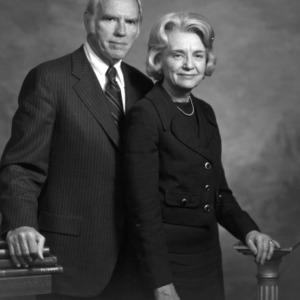 Portrait of John T. Caldwell and Carol Caldwell