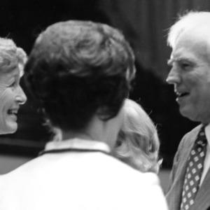 Chancellor John T. Caldwell at his retirement ceremony