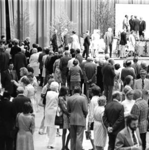 Chancellor John T. Caldwell's retirement reception
