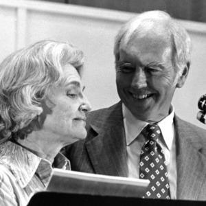 Chancellor John T. Caldwell and Carol Caldwell at his retirement ceremony