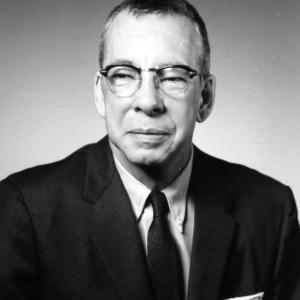 Dr. Robert G. Carson portrait