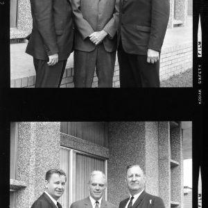 Willis R. Casey, John T. Caldwell, and Roy Clogston