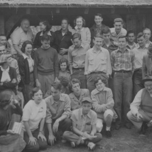 Edward L. Cloyd and others in group portrait