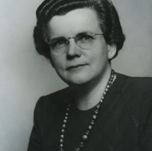 Gertrude M. Cox portrait