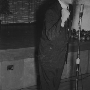 Gerald O. T. Erdahl at Christmas party