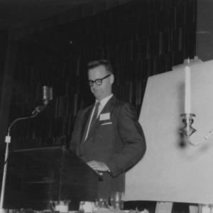 Gerald O. T. Erdahl at Regional Conference in Lexington, Kentucky