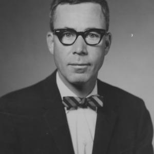 Dr. Ralph E. Fadum portrait