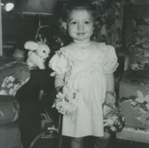 Marye Ann Fox as a child