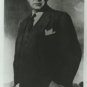 O. Max Gardner portrait painting
