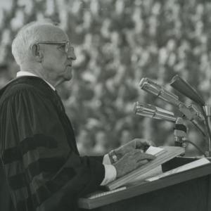 Frank P. Graham at podium