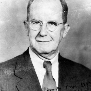 Louis H. Harris portrait