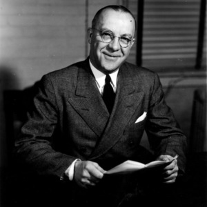 Dean James H. Hilton portrait