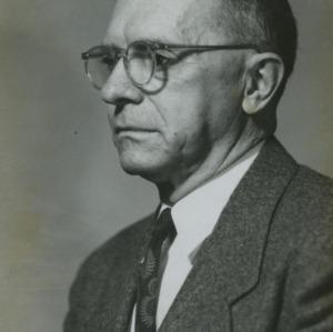 Dr. L. E. Hinkle portrait