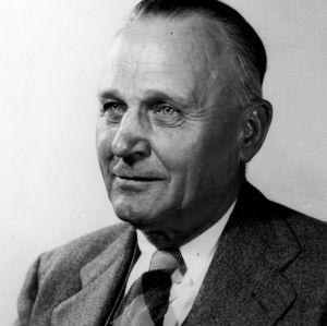 Dr. Julius V. Hofmann portrait