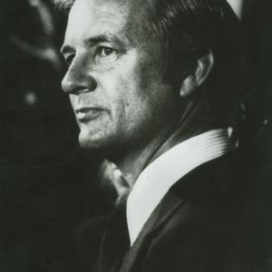 James B. Hunt portrait