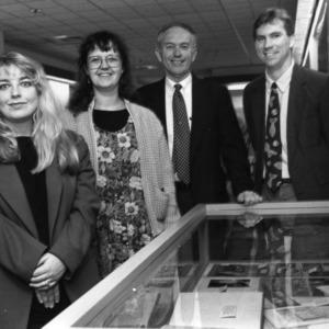 Caroline Weaver, Andi Knecht, Maurice Toler, and David Jackson