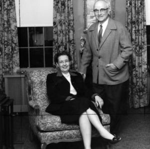 J. Harold Lampe and his wife, Rose Lampe