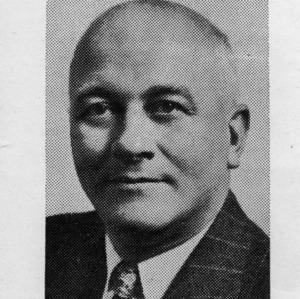 Dean J. Harold Lampe portrait