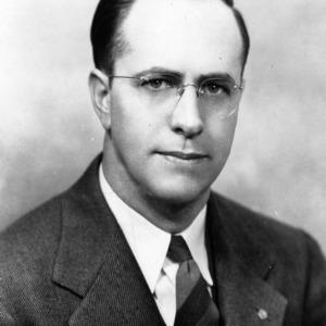 Dr. J. Paul Leagans portrait