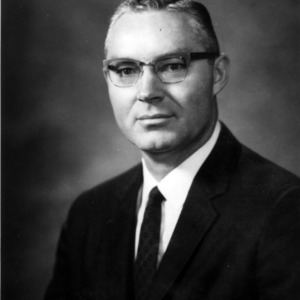 Dean James E. Legates portrait