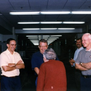 Jack Levine and others at event