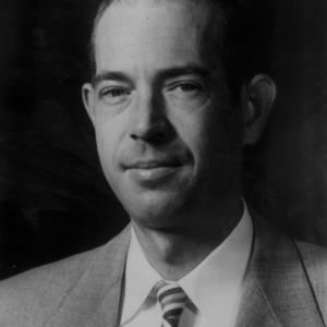 Professor Patrick H. McDonald portrait