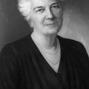 Dr. Jane S. McKimmon painted portrait