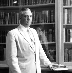 Dr. Arthur C. Menius in his office