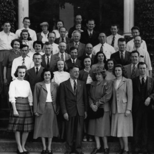Group photo at Zeno P. Metcalf birthday