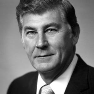 Chancellor Bruce R. Poulton portrait