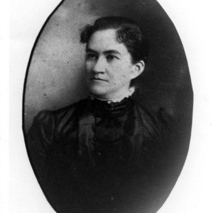Portrait of Mrs. Elizabeth Scott, wife of Robert W. Scott (the elder) and mother of W. Kerr Scott
