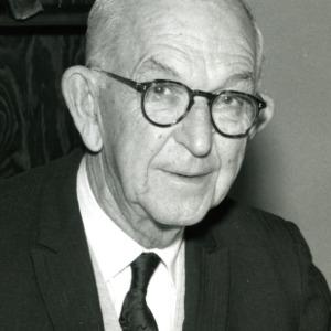 Dean I. O. Schaub portrait