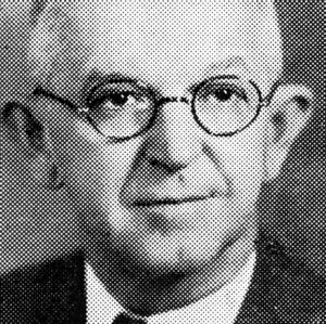 Dr. I. O. Schaub portrait