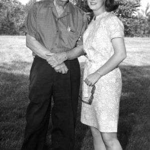I. O. Schaub with Linda Rand