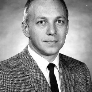Carl F. Zorowski portrait
