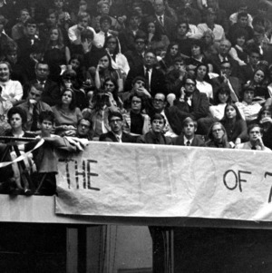 """The Spiro of of 76"" Sign at Spiro Agnew Rally"