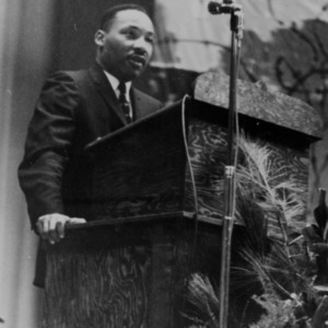 Dr. Martin Luther King, Jr. at Athens Conference, early 1960's