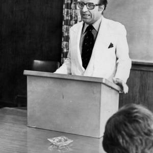 Ambassador N.A. Palkhiwala speaking