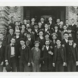 Class pictures, first freshman class, 1889