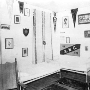 Dorm room, circa 1909
