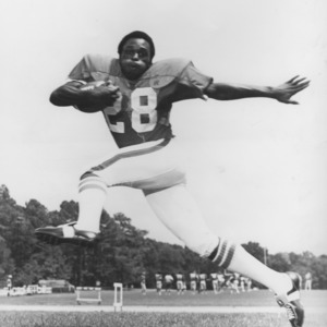 N. C. State football player Billy Ray Vickers
