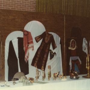 Booth at international fair