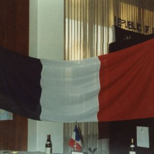 France booth at international fair